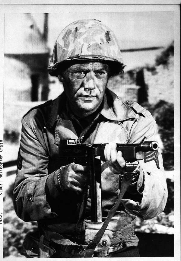 "Vic Morrow stars in ""Combat!"""