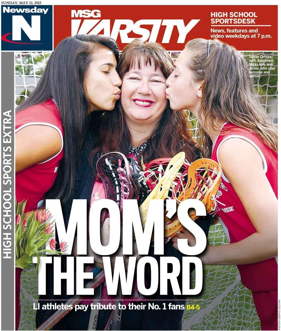 The Mother's Day cover of Newsday's high school