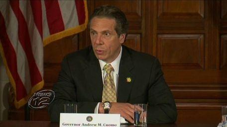 Gov. Andrew M. Cuomo announces a restructuring plan