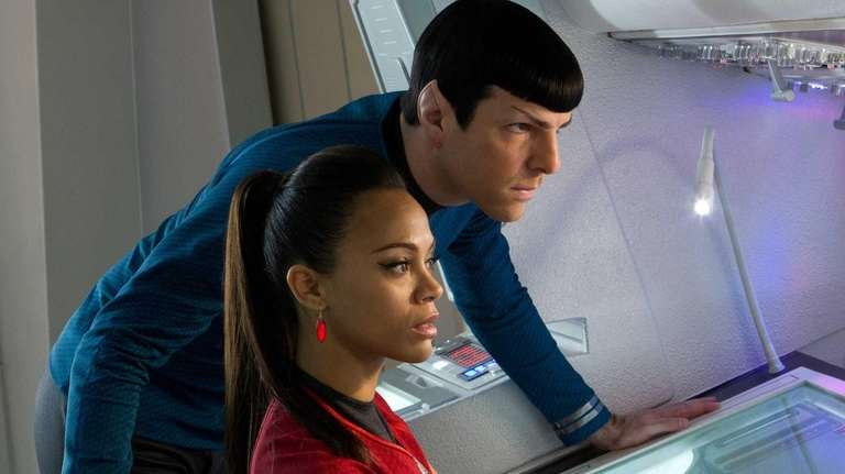 Zachary Quinto and Zoe Saldana star in 2013's