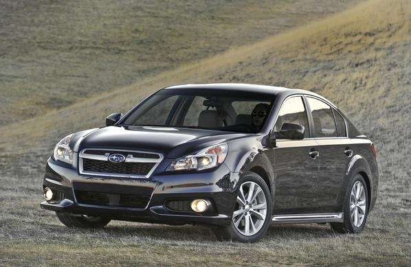 Some owners of the 2013 Subaru Legacy, pictured