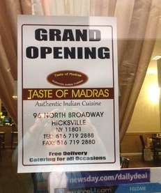 Taste of Madras is the new Southern Indian