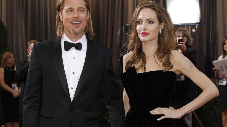Angelina Jolie and Brad Pitt at the 84th