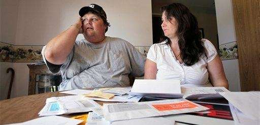 Eric Krangnes, left, and his girlfriend Shelly Brann