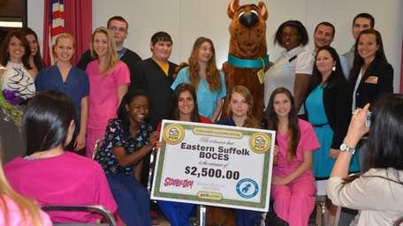 Thirteen Eastern Suffolk BOCES students won first place