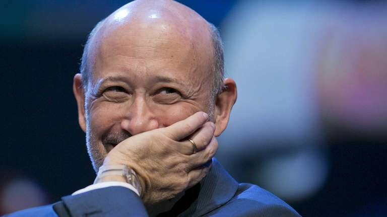Lloyd Blankfein, chairman and chief executive officer of