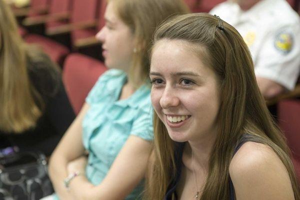 Shannon Merker, 17, from Flanders inside Southampton Town