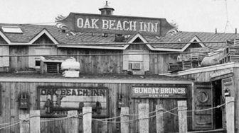 The Oak Beach Inn in Oak Beach. Notice