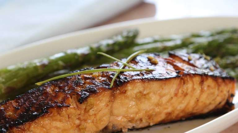 Ginger-lime teriyaki salmon is a flavorful and easy
