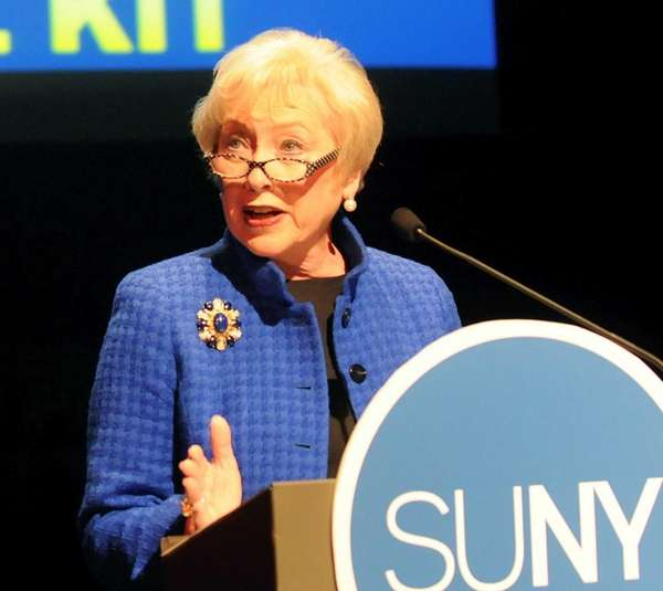 State University of New York Chancellor Nancy L.