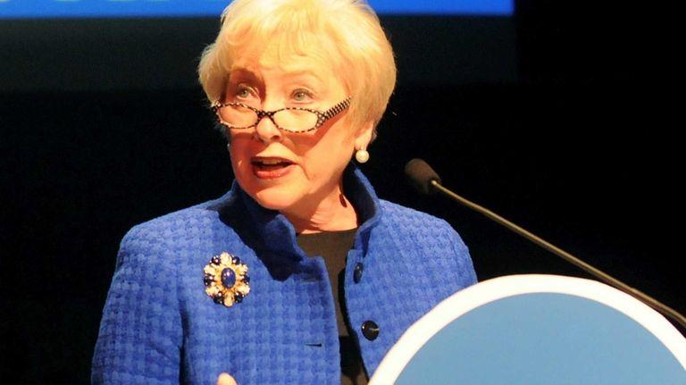 State University of New York Chancellor Nancy L.