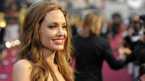 Angelina Jolie at the 84th Academy Awards in