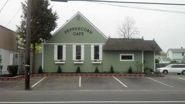 Peppercorn Cafe is new to East Patchogue. (May
