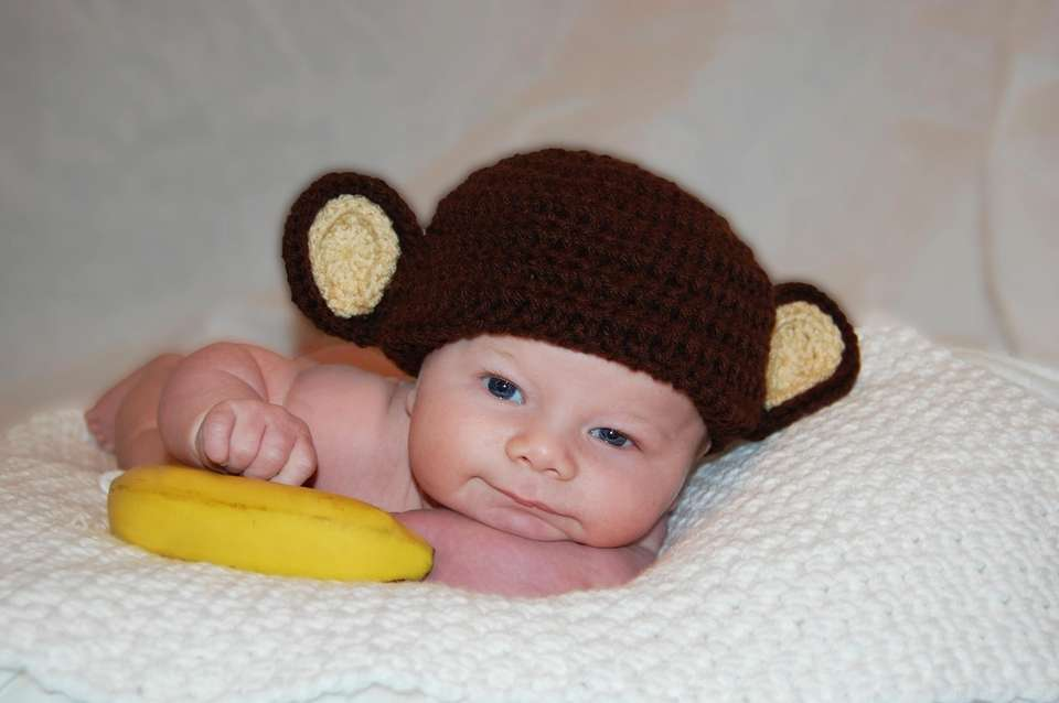Mommy's little monkey <3
