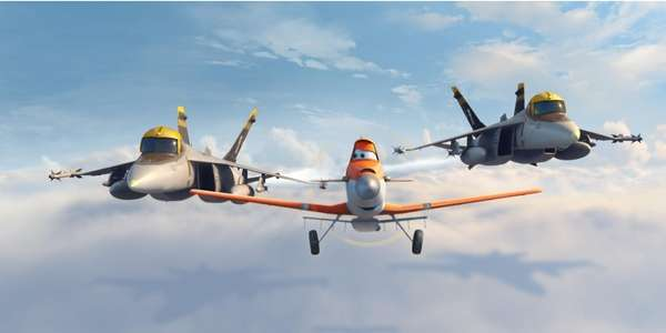 "Dusty, from ""Disney's Planes,"" due in theaters Aug."