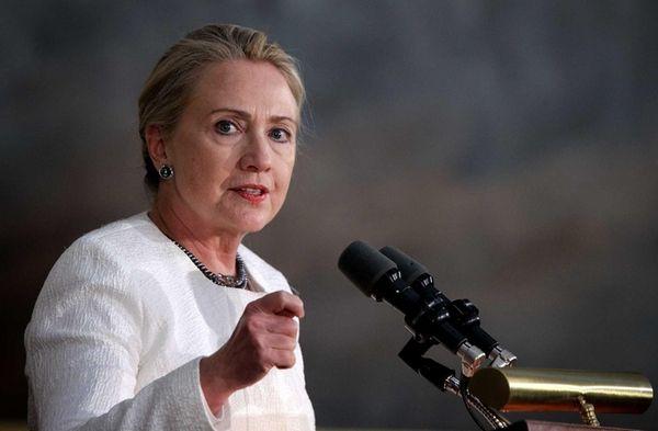 Former Secretary of State Hillary Clinton will speak