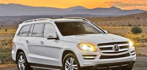 Standard equipment on the 2013 Mercedes-Benz GL is