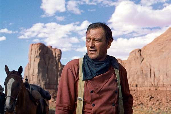 John Wayne as Ethan Edwards in John Ford's