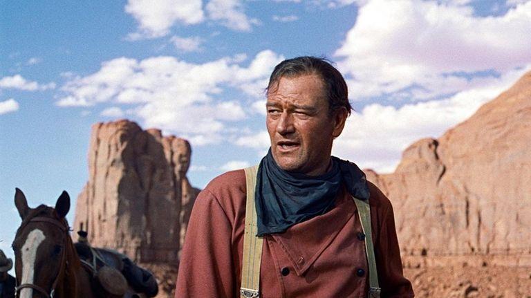 John Wayne as Ethan Edwards in John Ford's