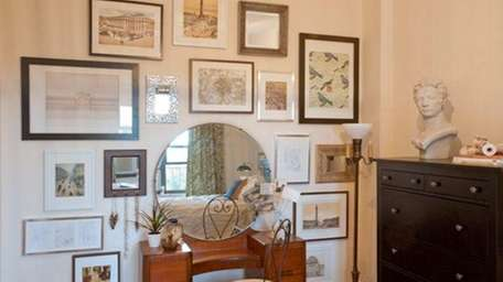 Designer Betsy Helmuth recommends making a mirror a