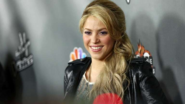Shakira arrives at an event for