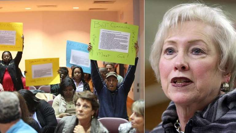 SUNY Chancellor Nancy L. Zimpher is directing Nassau