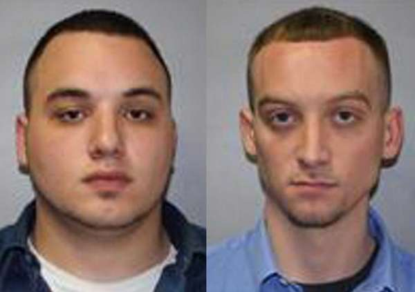Thomas Mocera, left, and David Rover, are charged