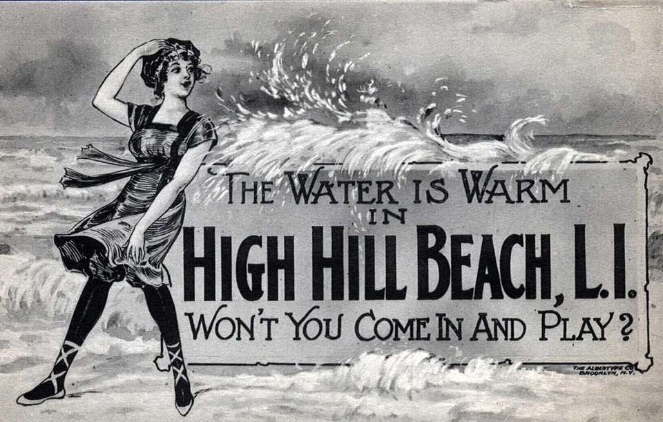 An ad for High Hill Beach in 1920.