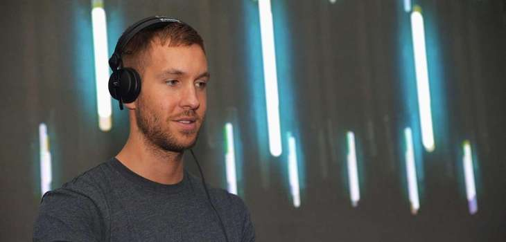 DJ/producer Calvin Harris spins at DIRECTV's 2013 National