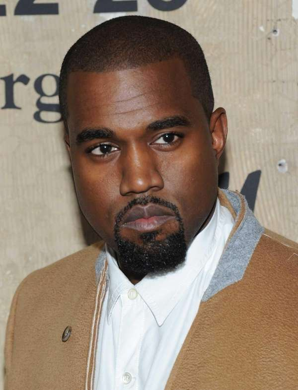 Entertainer Kanye West in Manhattan on Oct. 23,