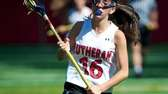 Long Island Lutheran junior Danyelle Ubertini brings the