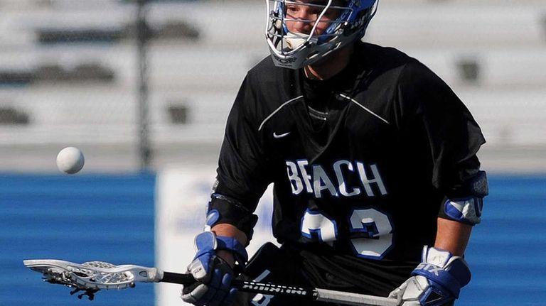 Long Beach's Josh Ayzenberg tries to gain control