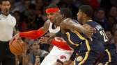Knicks' Carmelo Anthony is double teamed by the