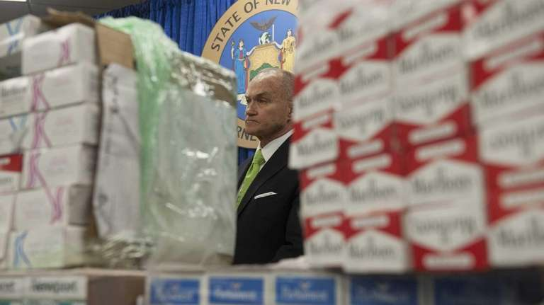 NYPD Commissioner Ray Kelly attends a news conference