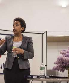 U.S. Attorney for the Eastern District Loretta Lynch