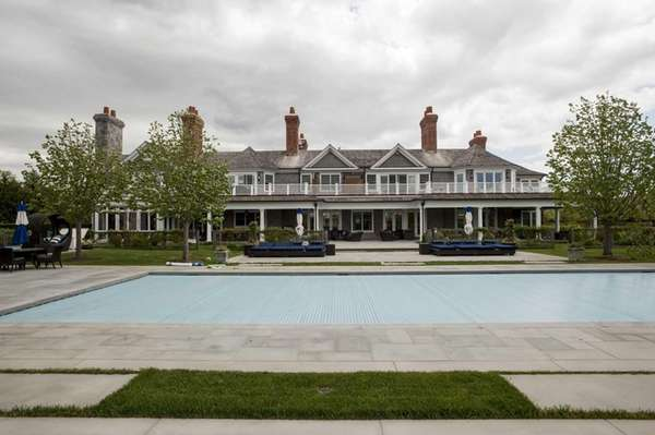A Bridgehampton house known as The Sandcastle is