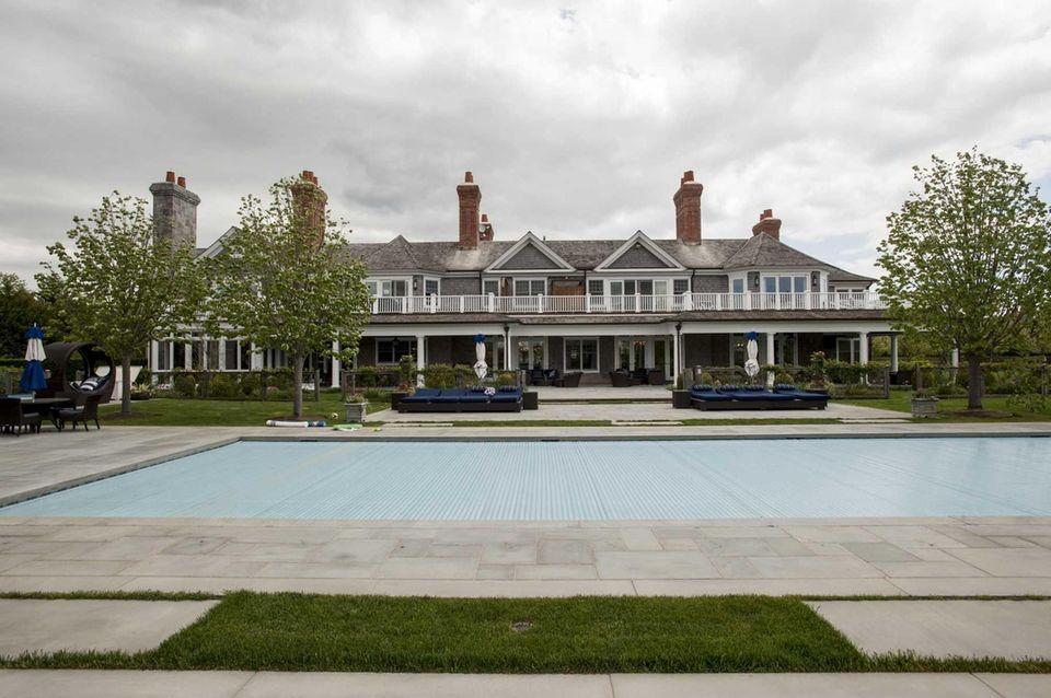 A Bridgehampton house known as The Sandcastle is