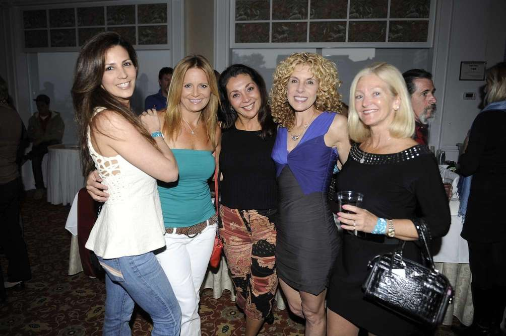 From left, Donna Marizigliano, Denise Needham, Elisa Corridore,