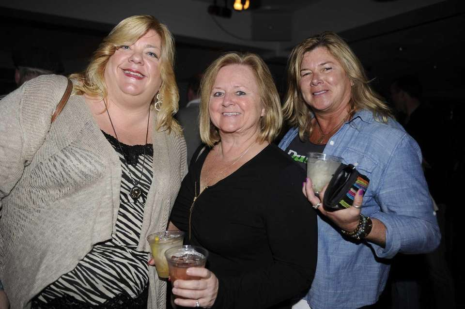 Karen German, left, Brenda Macpherson and Lauren Walsh