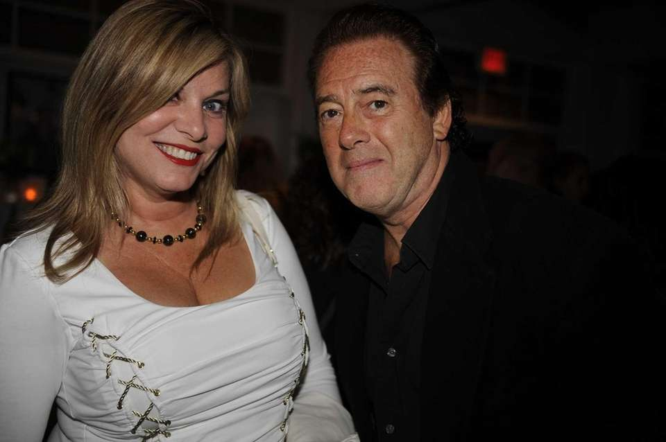 Joan Marci and Paul Anthony on the scene