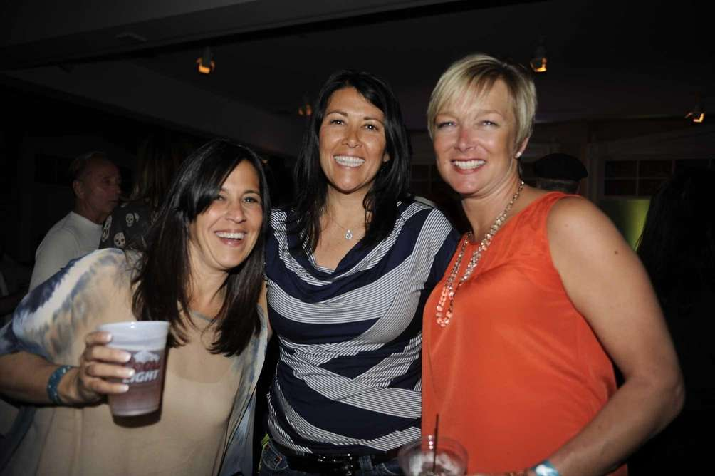 From left, Kerri Medio, Nicole O'Brien and Teresa