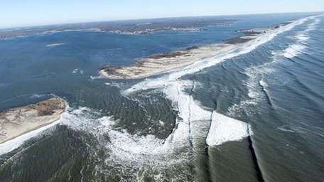 Fire Island had 200 homes washed away during