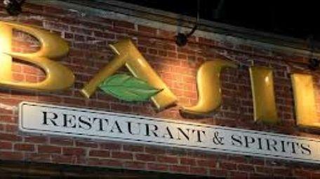 Basil Restaurant & Spirits in Bellport offers Italian