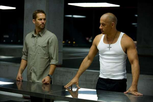 Paul Walker, left, and Vin Diesel in