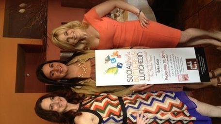 Jen Boudin, left, Toni Contino and Erika Katz