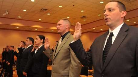 Nassau County welcomed 37 new police recruits at