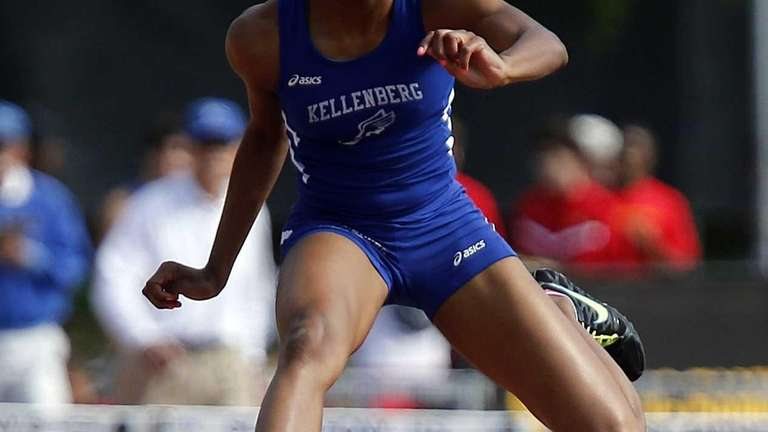 Kellenberg's Melany Belot takes first in the 400