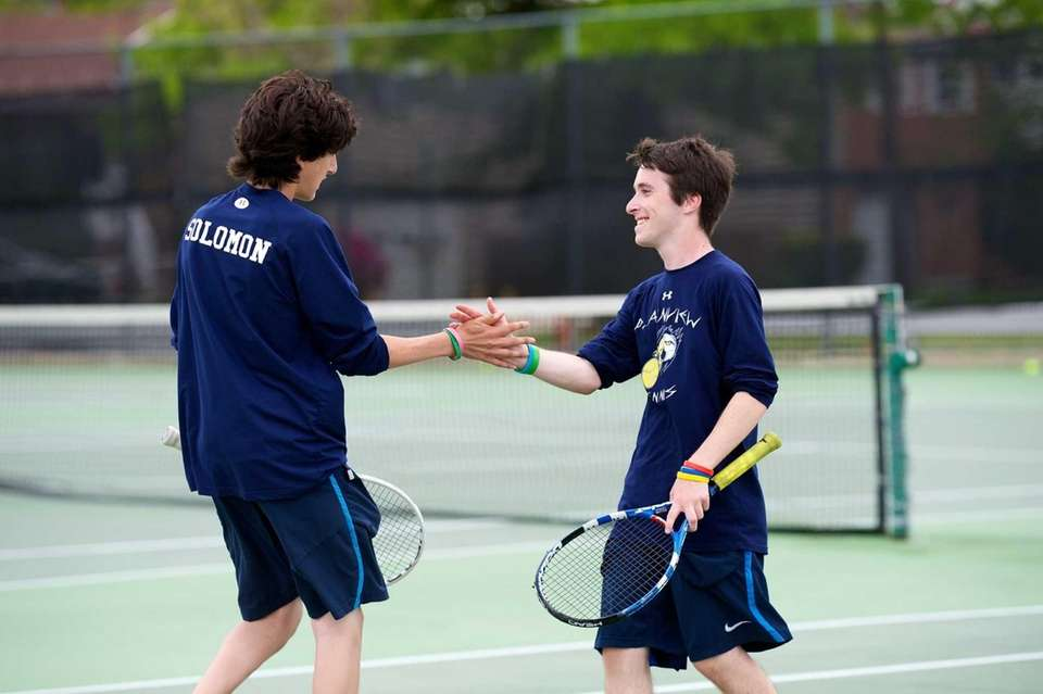 Plainview doubles team of Yuval Solomon and Josh