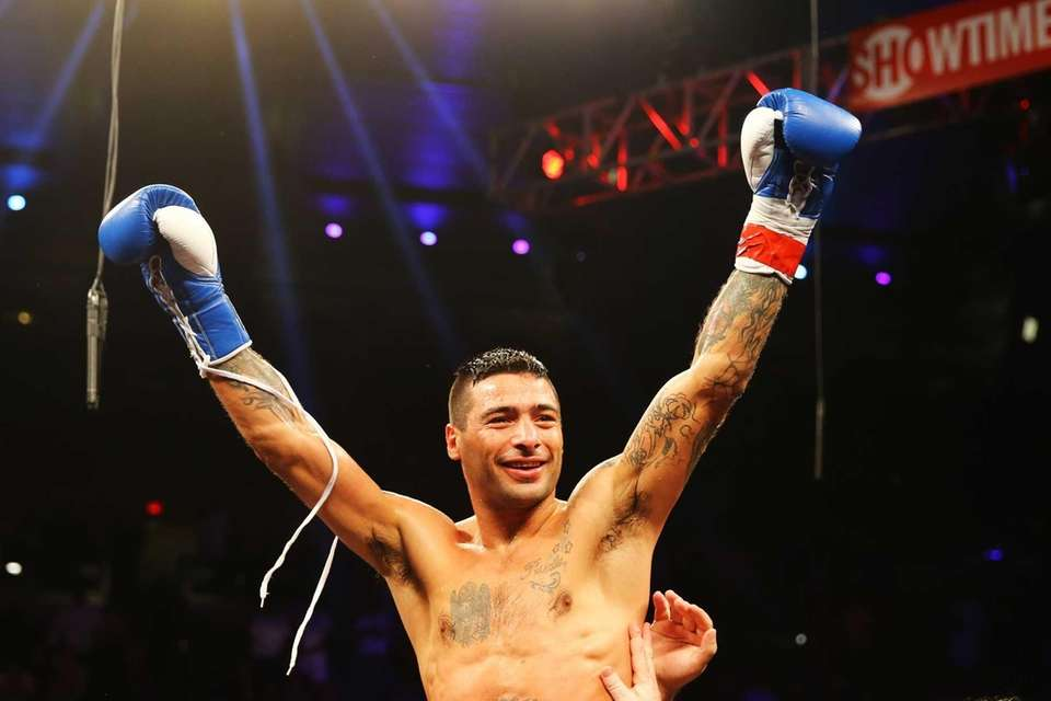 ATLANTIC CITY, NJ - MAY 18: Lucas Matthysse