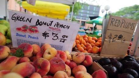 The Roosevelt Community Farmers Market is one of